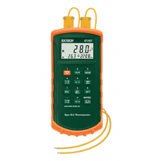 Extech 421502  Type J/K, Dual Input Thermometer with Alarm