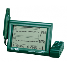 Extech RH520A-220 Humidity+Temperature Chart Recorder