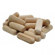 The #840014 1/4 In. Fluted Dowel Pins